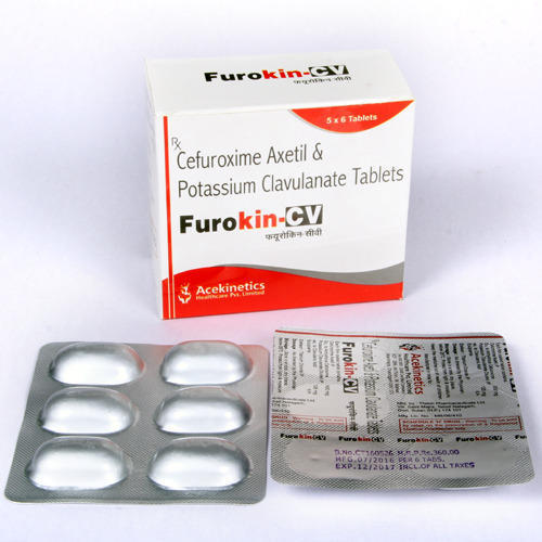 Cefuroxime Axetil and Clavulanate potassium Tablets
