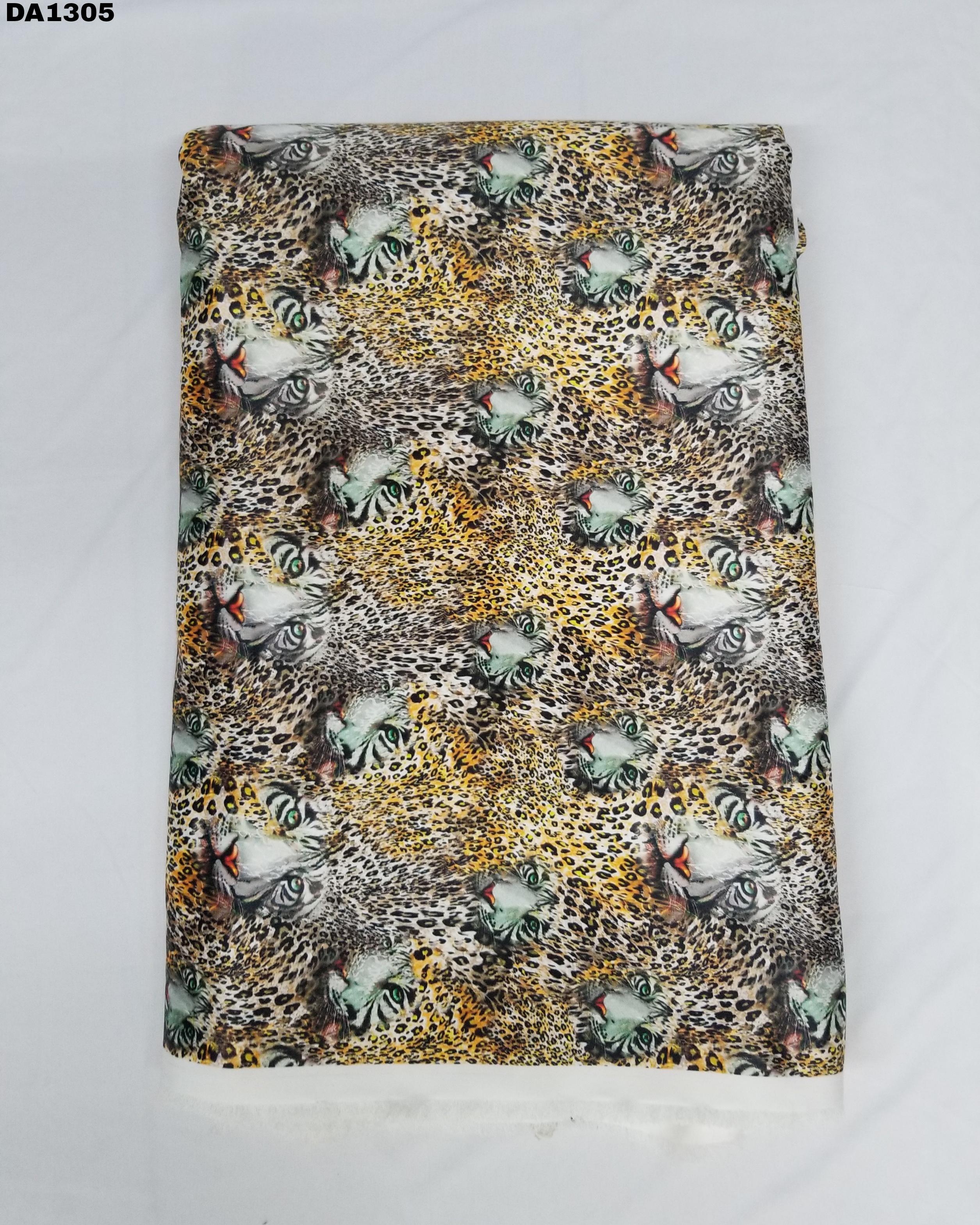 Flora Sartin Silk Digital Print Fabric
