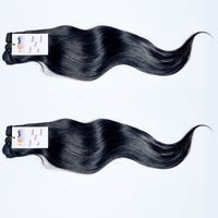 Hot Selling 100% Natural Best Quality Straight Indian Remy Virgin Human Hair Extensions