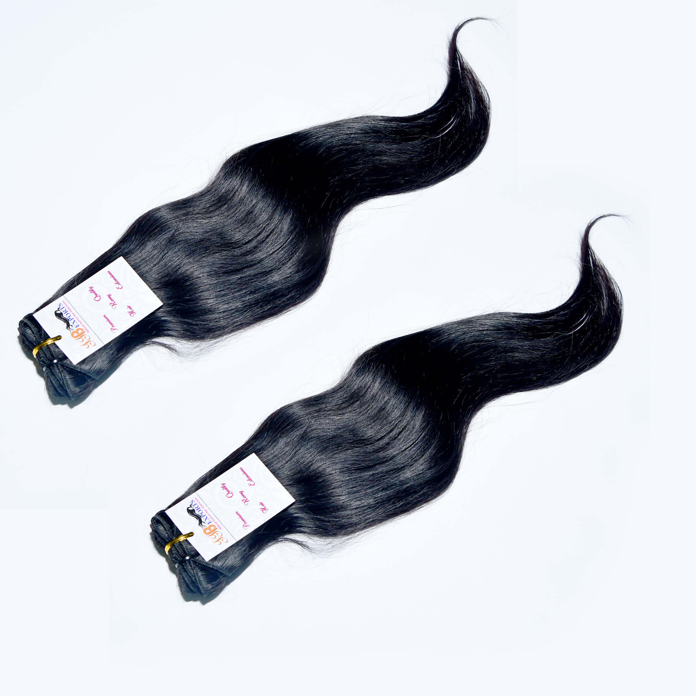 Natural Black Color Straight Double Machine Made Weft Hair,Wholesale Indian Virgin Hair