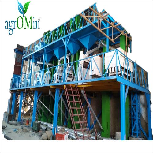 Steel Platform Rice Mill Machine