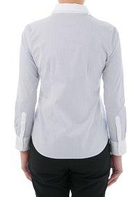 100% Cotton Wrinkle-free White Collared Dress Shirt