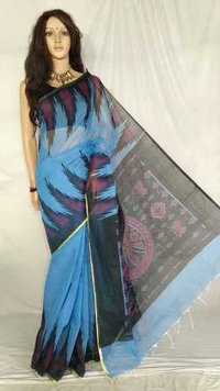 Sambalpuri Screen Printed Saree