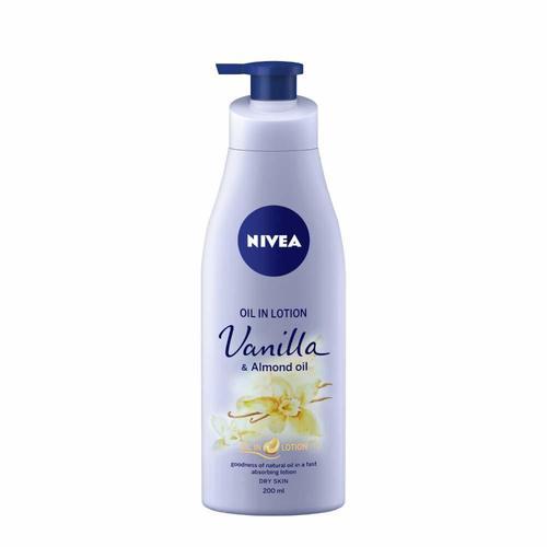 Nivea Vanilla And Almond Oil Body Lotion For Dry Skin