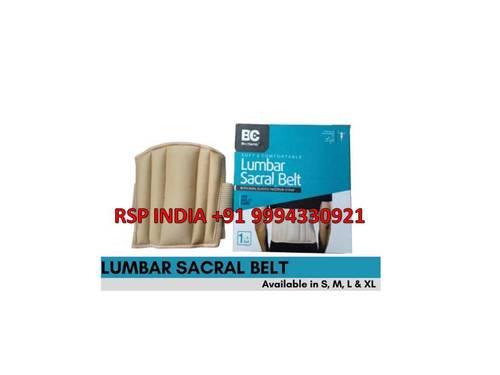 Lumbar Sacral Belt With Dual Elastic Fulcrum Strap