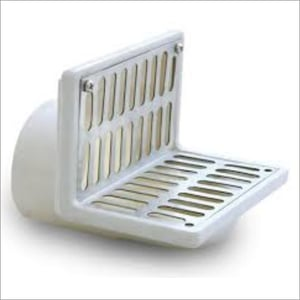 PVC And ABS Body Parapet Roof Drain