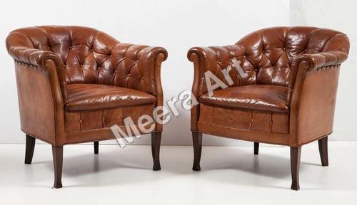 Set Of Two Single Seater Sofa