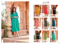 Ghoomer Cotton Slub Wonderful Midi Style Kurti Jacket Collection