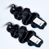 Top Quality Raw Mink Unprocessed Cuticle Aligned Weft Virgin Human Wavy Hair Extensions