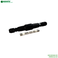 TUV standard detachable fuse connector IP67 solar PV4.0 solar Fuse connector for solar system 1500VDC