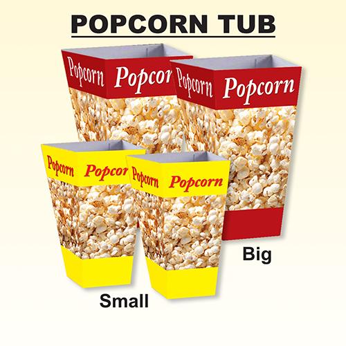 Paper Popcorn Tube