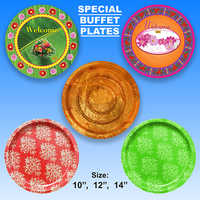 Special Buffet Paper Plates