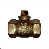 Gun metal horizontal check valve