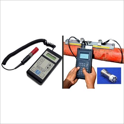 Portable Ultrasonic Flow Meter