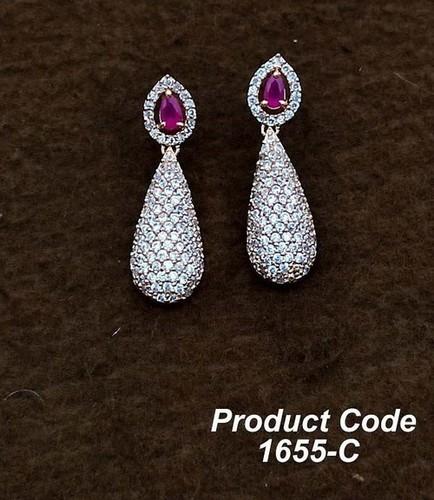 New Stylish American Diamond  Earrings