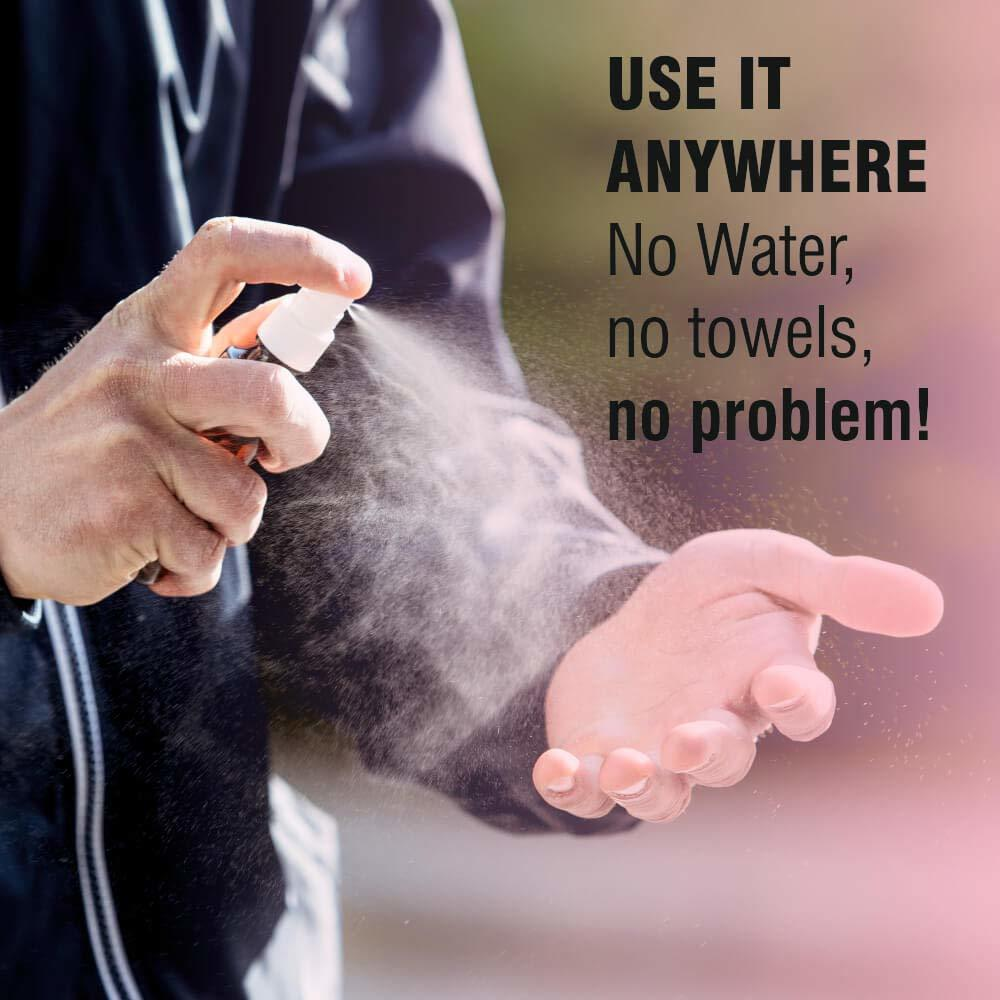 Harrods Unbreakable Plastic Empty Small Spray Bottle, Mist Spray Bottle For Sanitizer   Oil   liquid   fogging  room spray   rangoli and hand wash 100Ml pack of 5