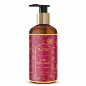 Luxury Natural Lime and Narangi Body Lotion For Soft Skin, Deep Hydration, All Skin Types, Body and Hand Lotion, for Absorption into Extra Dry Skin, 300ml