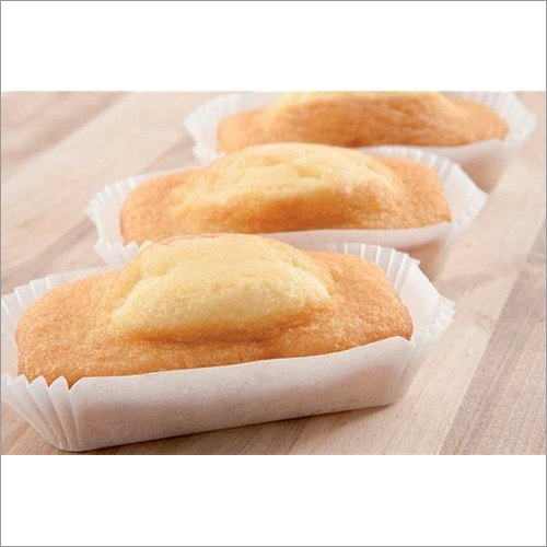 White Rectangle Muffin Paper Cup