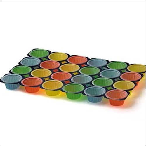 24 Cups Color Muffin Tray