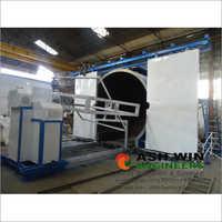 Shuttle Rotomoulding Machine