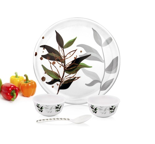 Melamine Plates and Bowl Set
