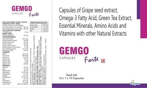 Omega 3 Grape Seed Amino Acid Green Tea Extract
