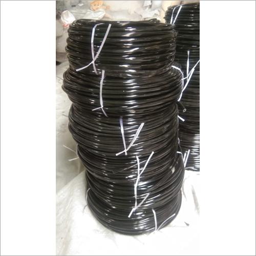 Black PVC Helmet Beading