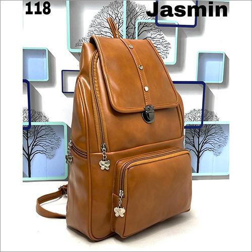 Brown 11 Inch Backpack Bag