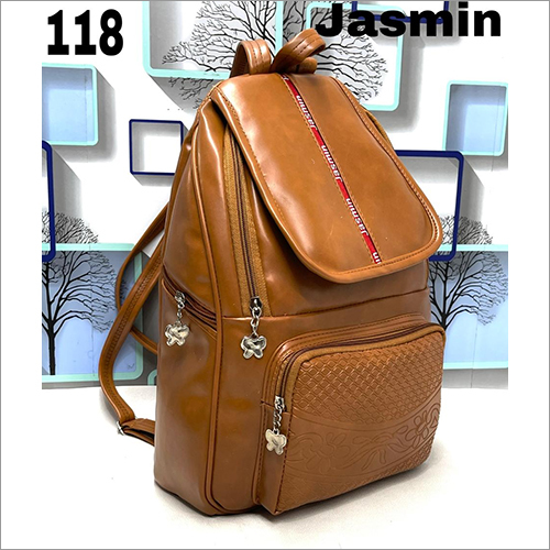 15 Inch Leather Backpack Bag