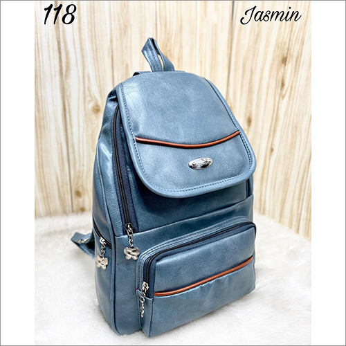 16 Inch Leather Backpack Bag
