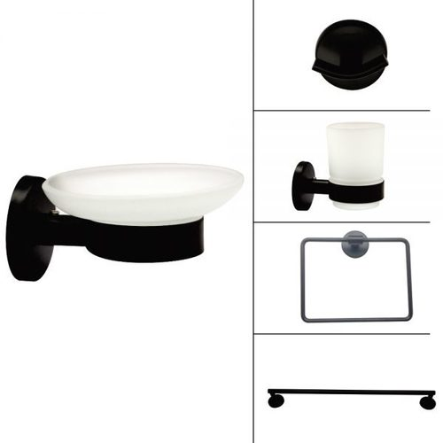 Black Finish Bath Accessories