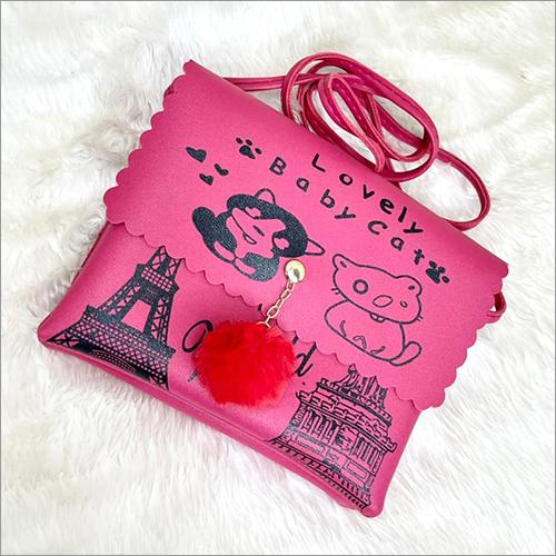 Ladies Sling Bag Design: Printed