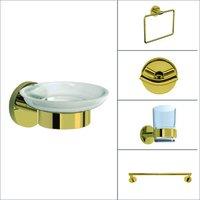 Gold Finish Bath Accessories