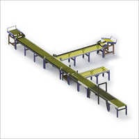 Roller Conveyor Line With Weighing