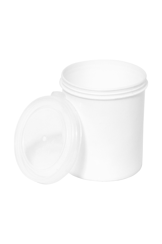 1Ltr Plain Transparent Paint Bucket