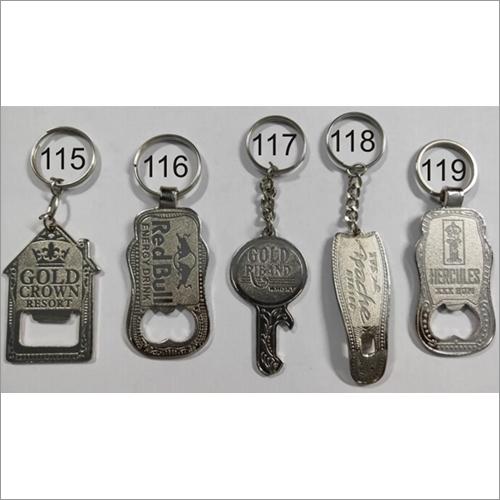 Nickle Band Opener Key Chain