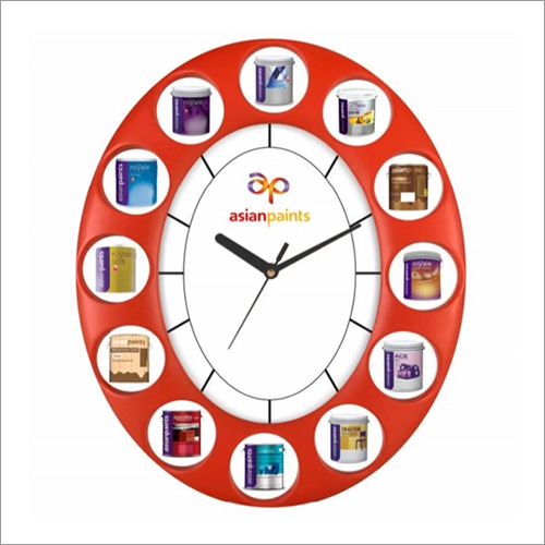 Wall Oval Clock