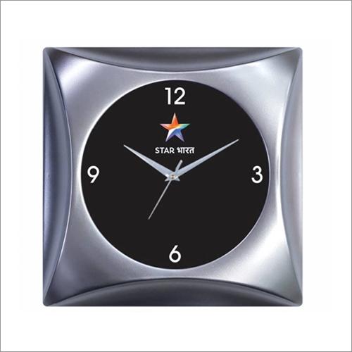 Silver Shine Wall Clock