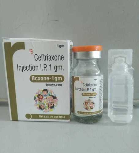 CEFTRIAXONE INJECTION 1GM