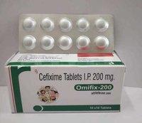 CEFIXIME TABLETS I.P. 200MG