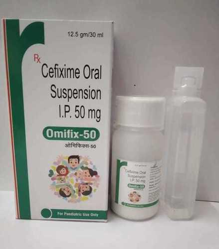 CEFIXIME ORAL SUSPENSION I.P. 50MG (12.5GM/30ML)