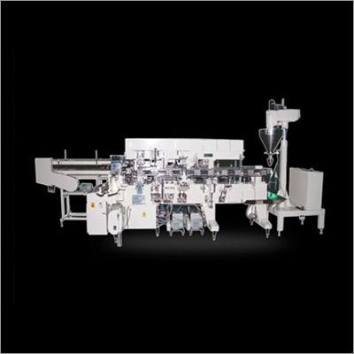 Twin Head Line Carton Machine