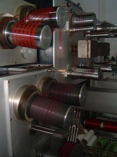 BCF yarn spinning machine