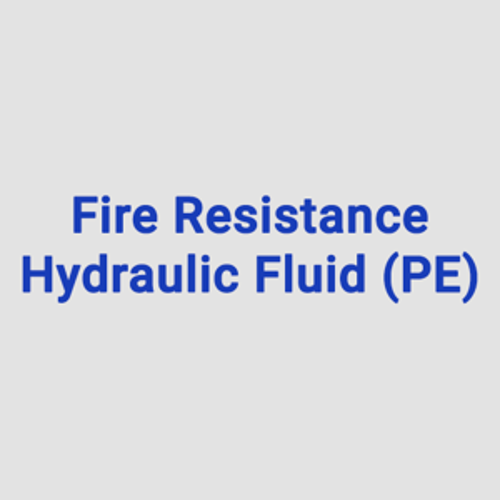 Fire Resistance Hydraulic Fluid (PE)