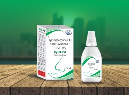 Xylometazoline Hci Nasal Drops (Xylet Pd) 10ml