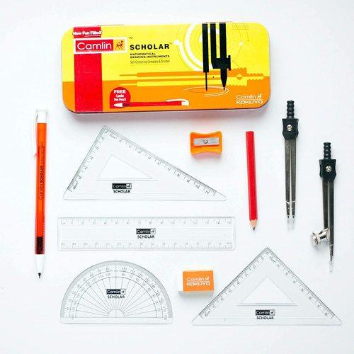 Camlin Scholar Mathematical Drawing Instruments