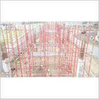 Huge Industrial Concrete Blocks Work