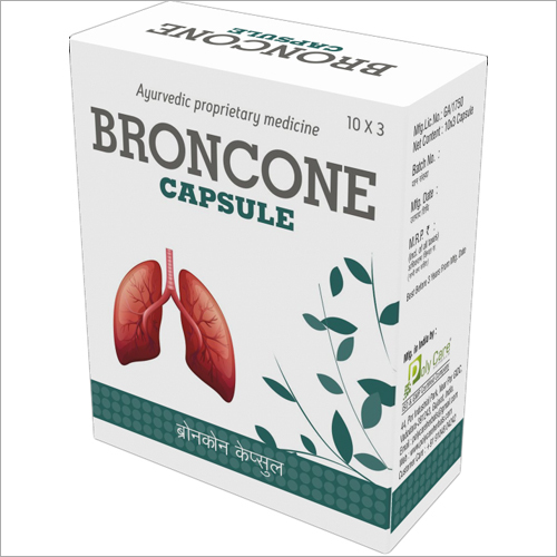 Ayurvedic Broncone Capsule