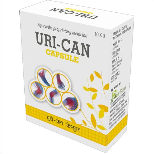 Ayurvedic Uric Acid Control care Uri-Can Capsule