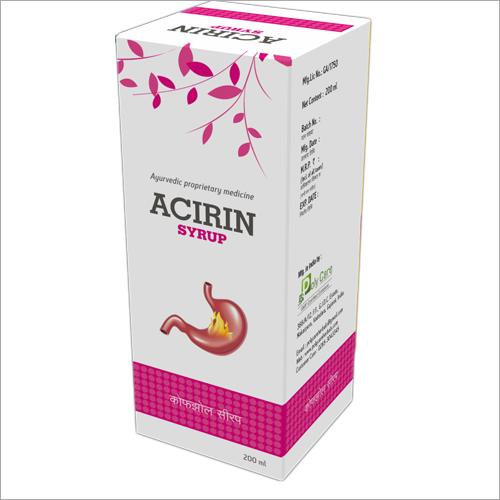 200 ml Ayurvedic Acirin Syrup
